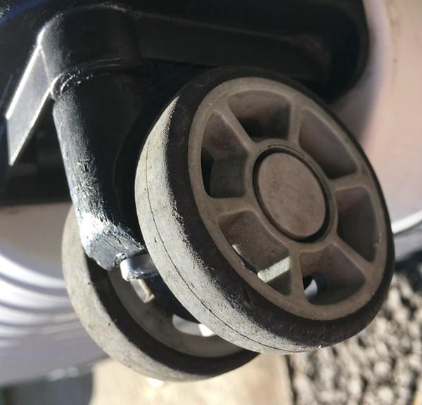 車輪の汚れを気にしない